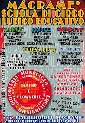 SCUOLA DI CIRCO LUDICO EDUCATIVO