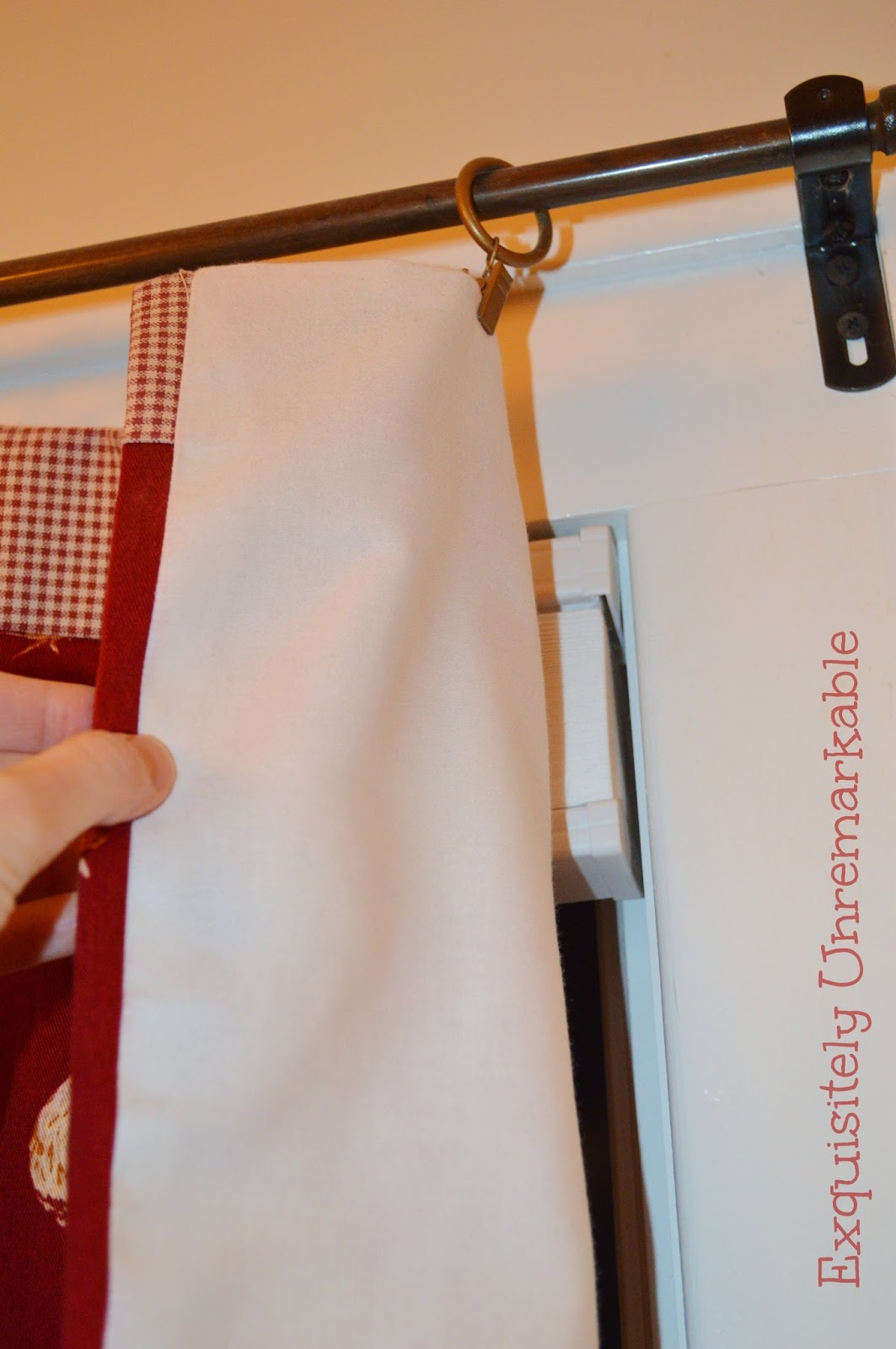 How To Line A Valance