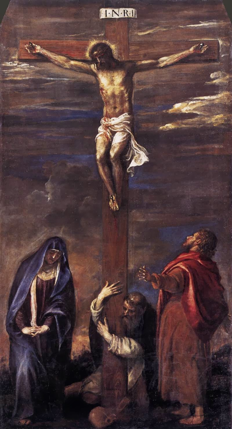 "Picture of ""Crucifixion"" by Titian, 1558"