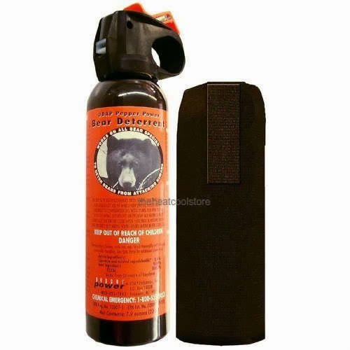 Bear Spray for Hunters