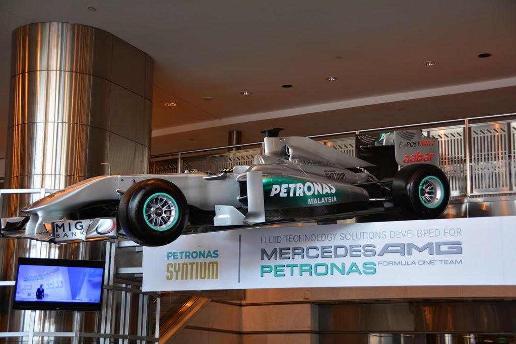 Petronas Towers Kuala Lumpur Formula One