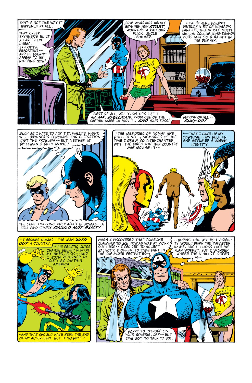 Captain America (1968) Issue #262 #177 - English 4