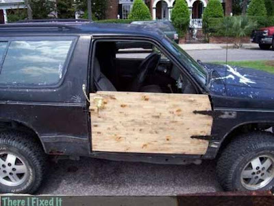 Funny Wallpaper car door