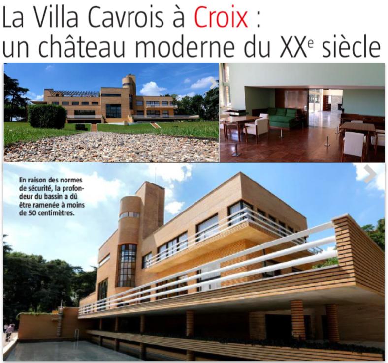 L'été à la Villa Cavrois