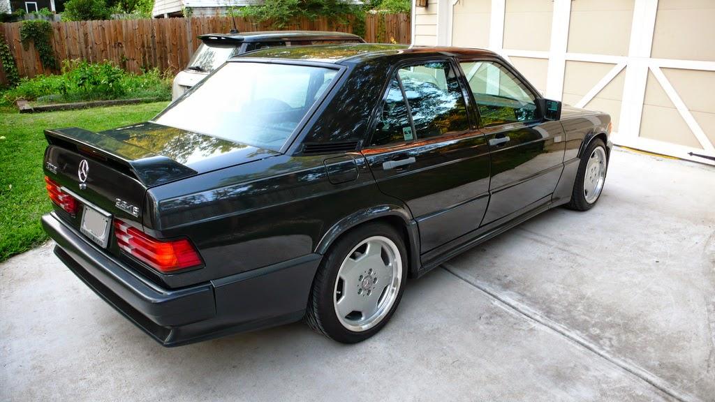 Mercedes benz 190e 2 3 16 on amg monoblock 39 s benztuning for Mercedes benz 190e rims