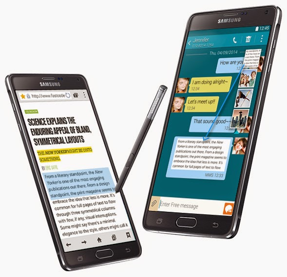 Android Samsung Galaxy Note 4 Review
