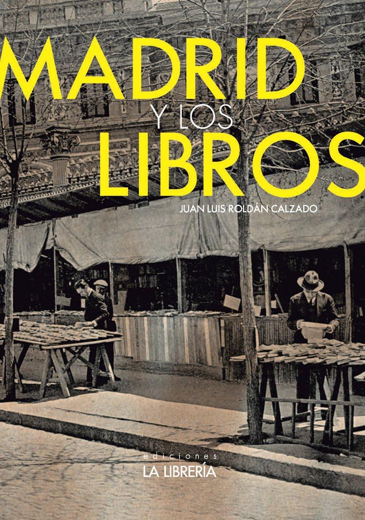 """Libro """"Madrid y los libros"""""""