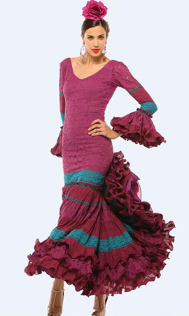 El Corte Inglés traje de flamenca 2013