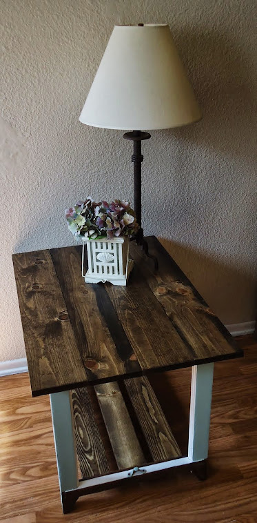 1920s Window Accent Table - SOLD