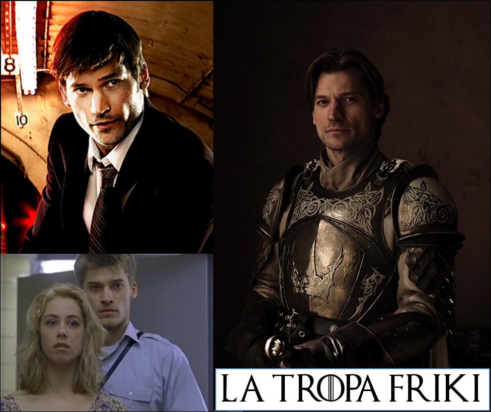 Nikolaj Coster-Waldau Jaime Lannister Ayer y Hoy Tropa Friki
