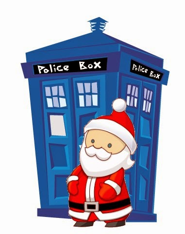 Geek Christmas Doctor Who Santa Tardis