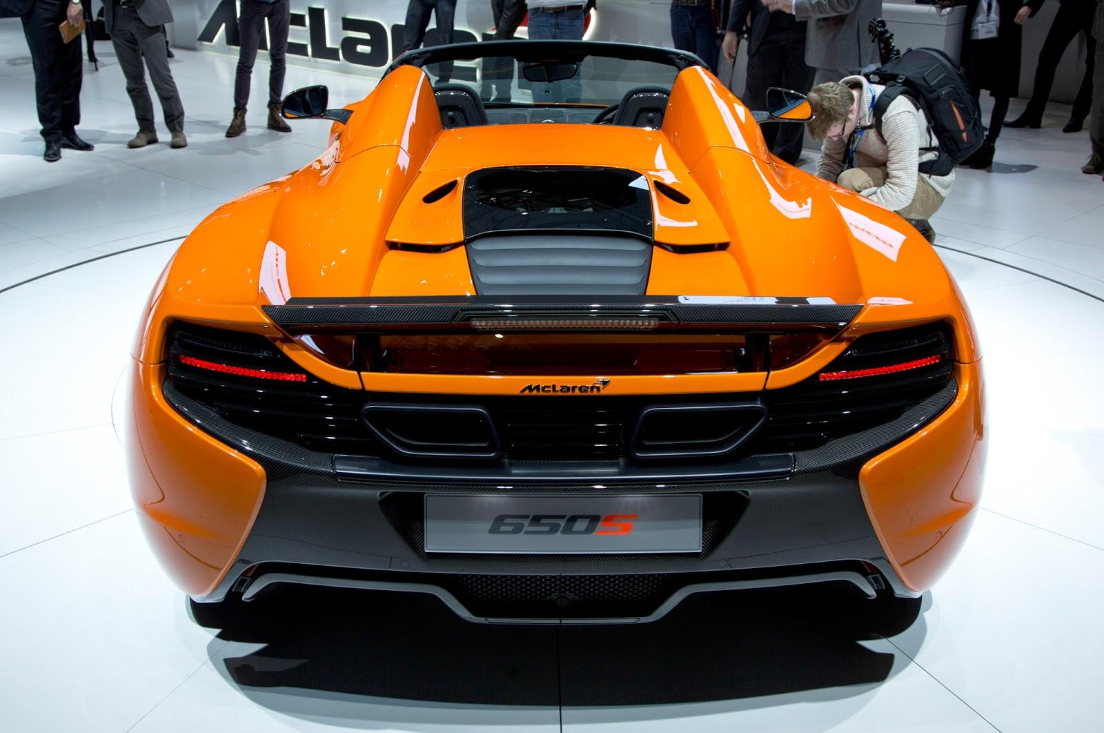 2015 McLaren 650S Exterior