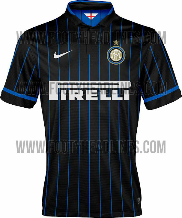 Inter Milans awesome new home kit for 2014/2015 season leaked [Picture]