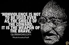 SELF CONTROL is NON-VIOLENCE