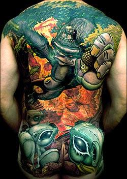Melhores tatuagens de animais fotos