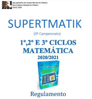 Matemática: Regulam. SUPERTMATIK