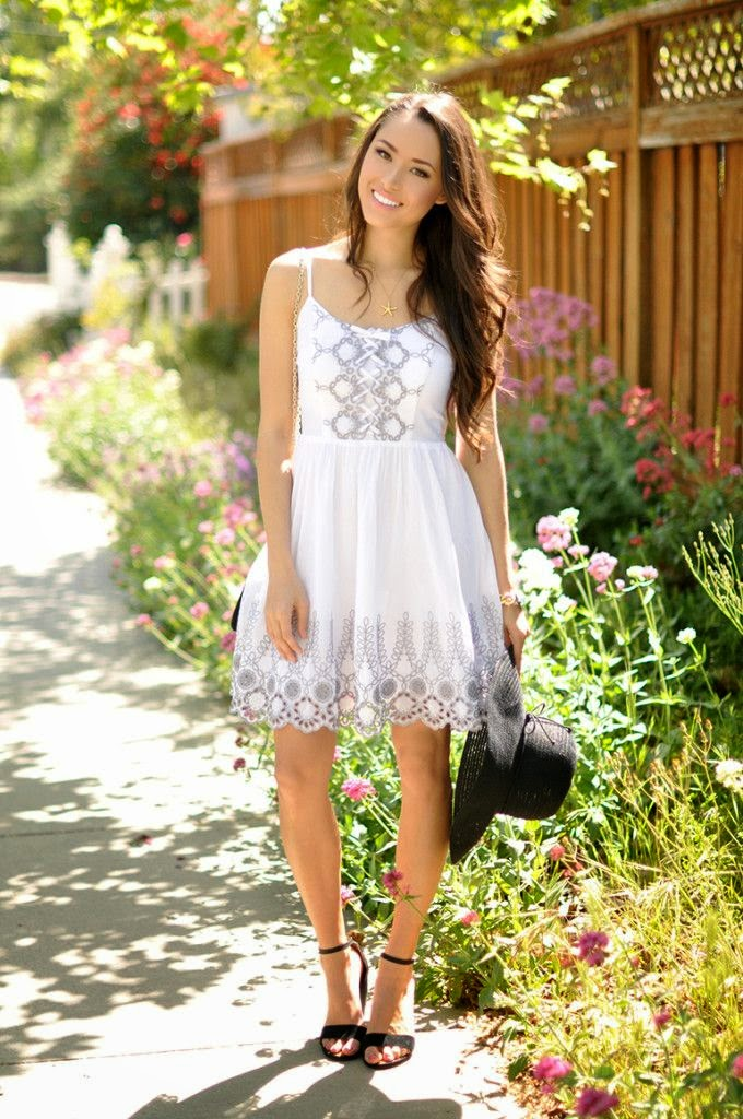 Dresses are a great look for spring!