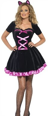 Cute Kitty Ladies Costume