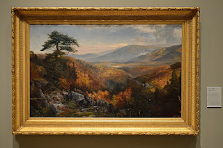 Valley of the Catawissa in Autumn by Thomas Moran at Crystal Bridges