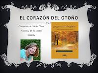 Cartel de presentación EL CORAZÓN DEL OTOÑO