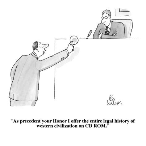 law essay on judicial precedent