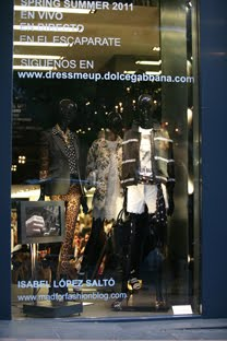MY WINDOW STYLING FOR DOLCE & GABBANA