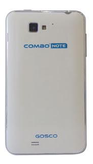 Harga dan Gambar Belakang Gosco Combo Note 333 Android Phablet Murah