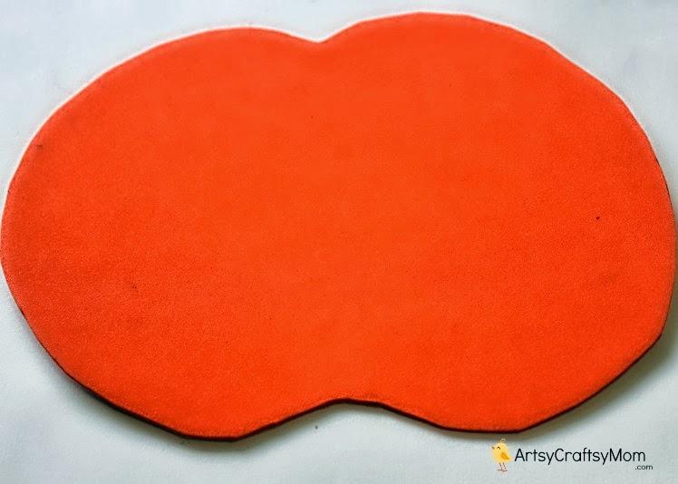 foam pumpkin