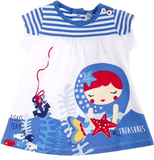 Tuc Tuc Marine Treasures - Girls Jersey Dress