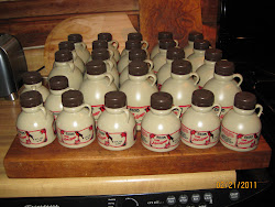 Finished Syrup in the Jugs