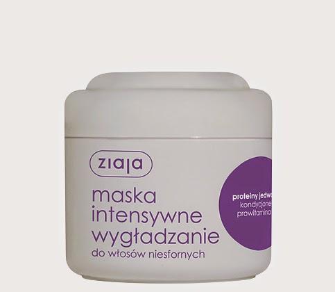 Ziaja maska wygładzająca do włosów niesfornych - dla gładkich i miękkich fal :)