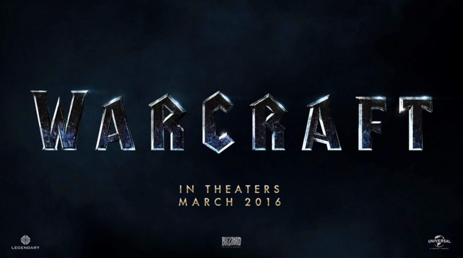Warcraft Movie Title Logo HD Wallpaper