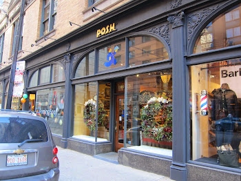 P.O.S.H. now carries our jewelry 613 N. State Street Chicago Illinois