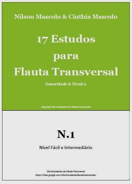 17 Estudos para Flauta Transversal