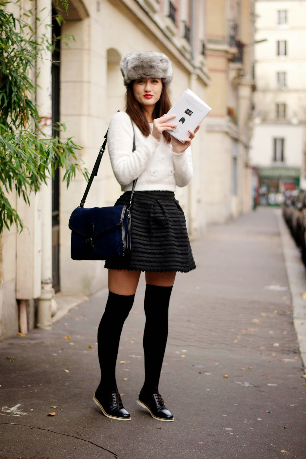 Over the knee socks style