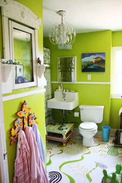 Diseno De Baños Hermosos:selección de fotos de baños decorados con muchos colores, cuartos de