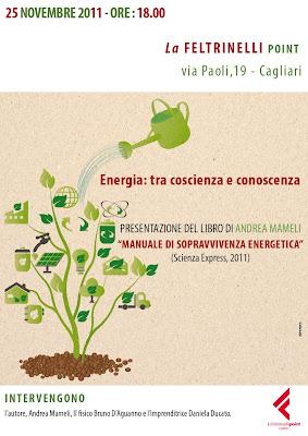 Manuale sopravvivenza energetica Feltrinelli Cagliari 2011