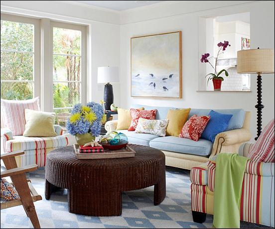 Cottage living room design ideas room design inspirations for Bungalow living room design