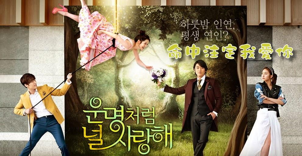 《2014韓劇 命中注定我愛你》分集劇情 人物角色 ~ 張赫、張娜拉、崔振赫