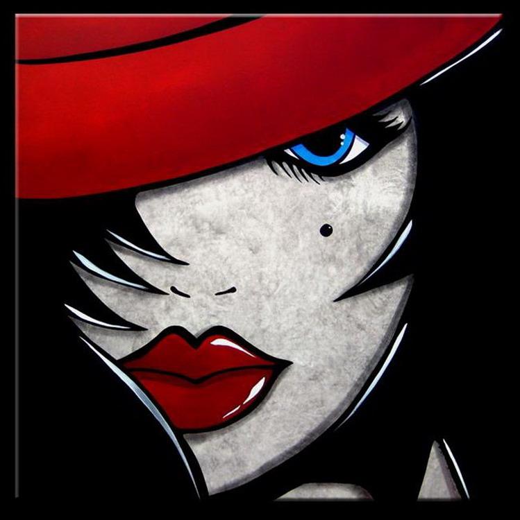 Im genes arte pinturas rostros modernos expresiones del for Imagenes de cuadros abstractos modernos para imprimir