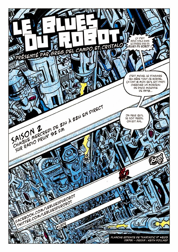 Ton Robot a le Blues?