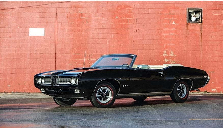 on the block 1969 ram air iv pontiac gto convertible update with