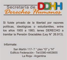 DDHH - La Rioja