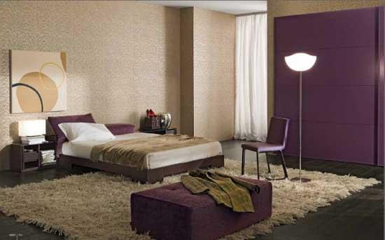 Awesome Chambre Mauve Et Beige Images - House Design - marcomilone.com