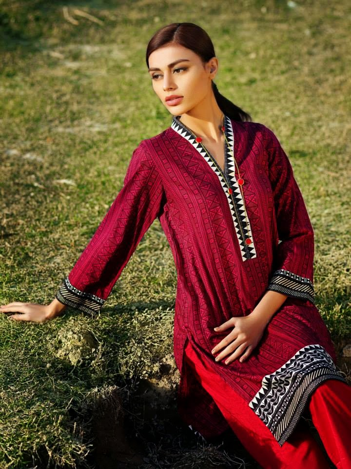 Khaadi lawn 2015 collection