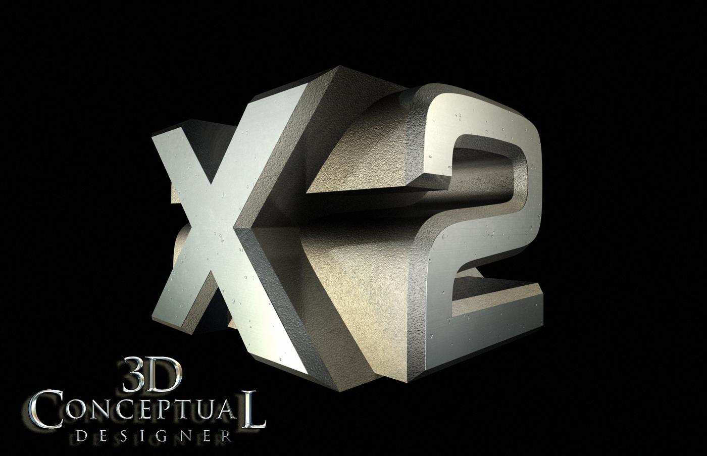 Project Re...X 3d Logo Design