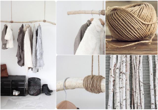 ramas de árbol ropa