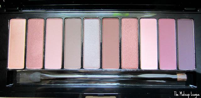 loreal la palette nude 2