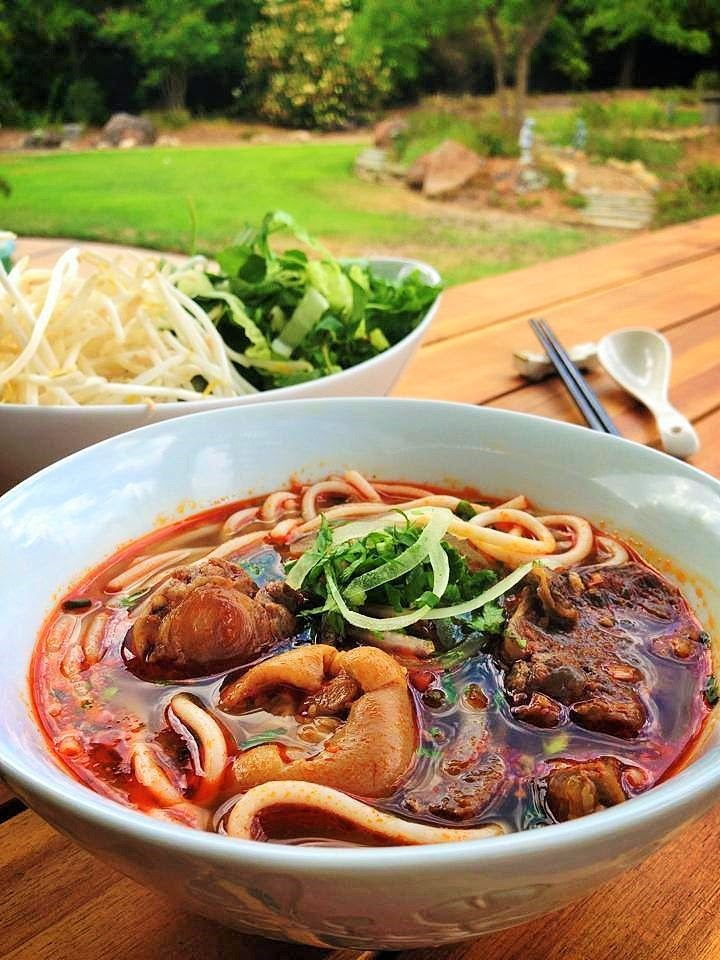 Hue Beef Noodle Soup Recipe — Dishmaps