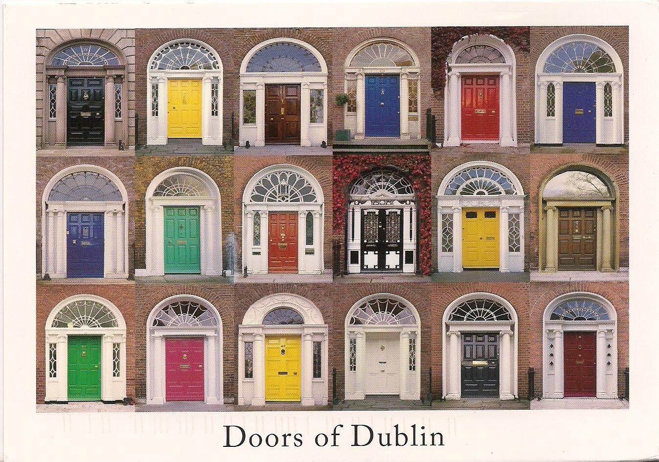 postcards2lufra: Doors of Dublin